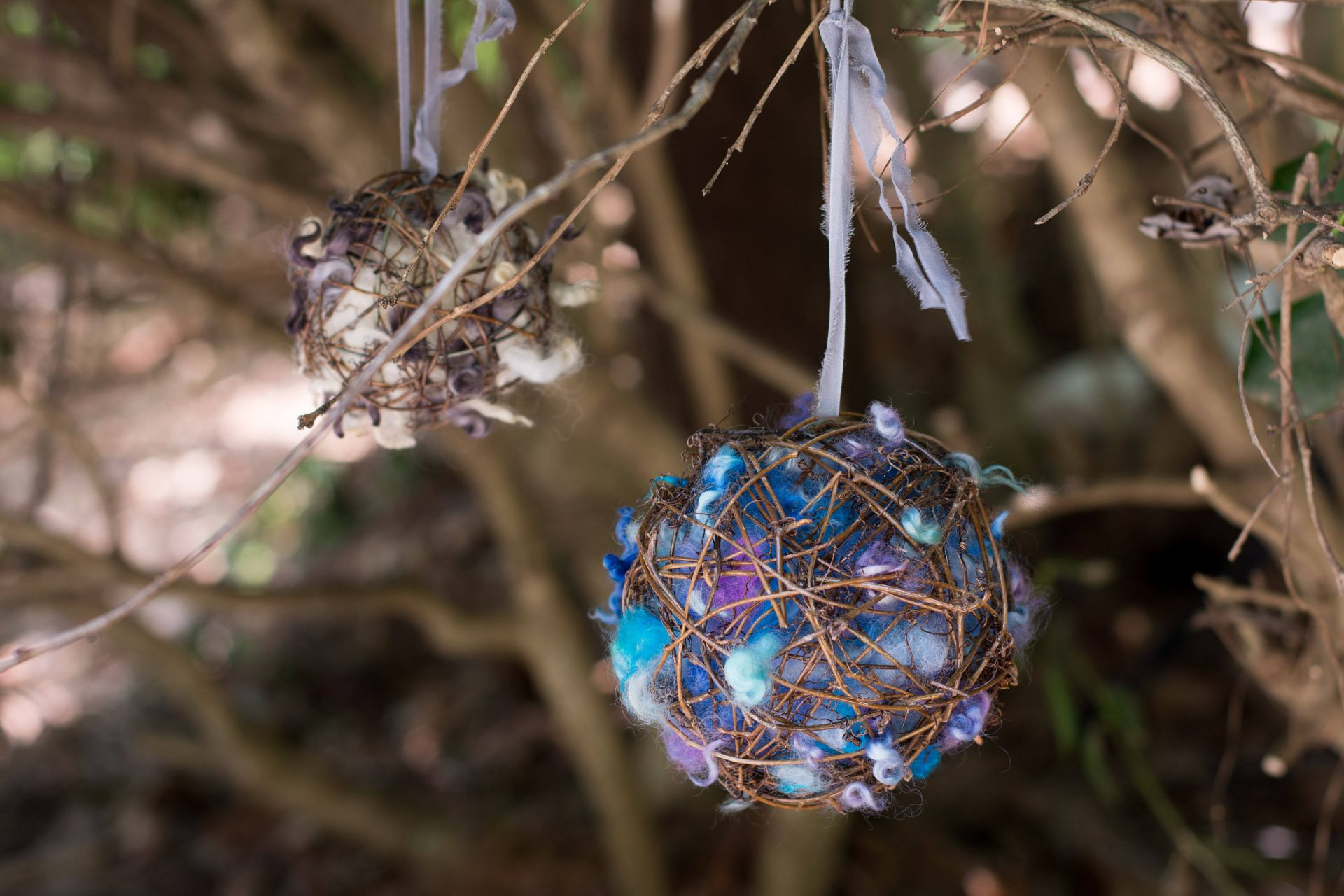 Wooly Nester-Bird Nesting Ball | Sara Setzer Feltworks